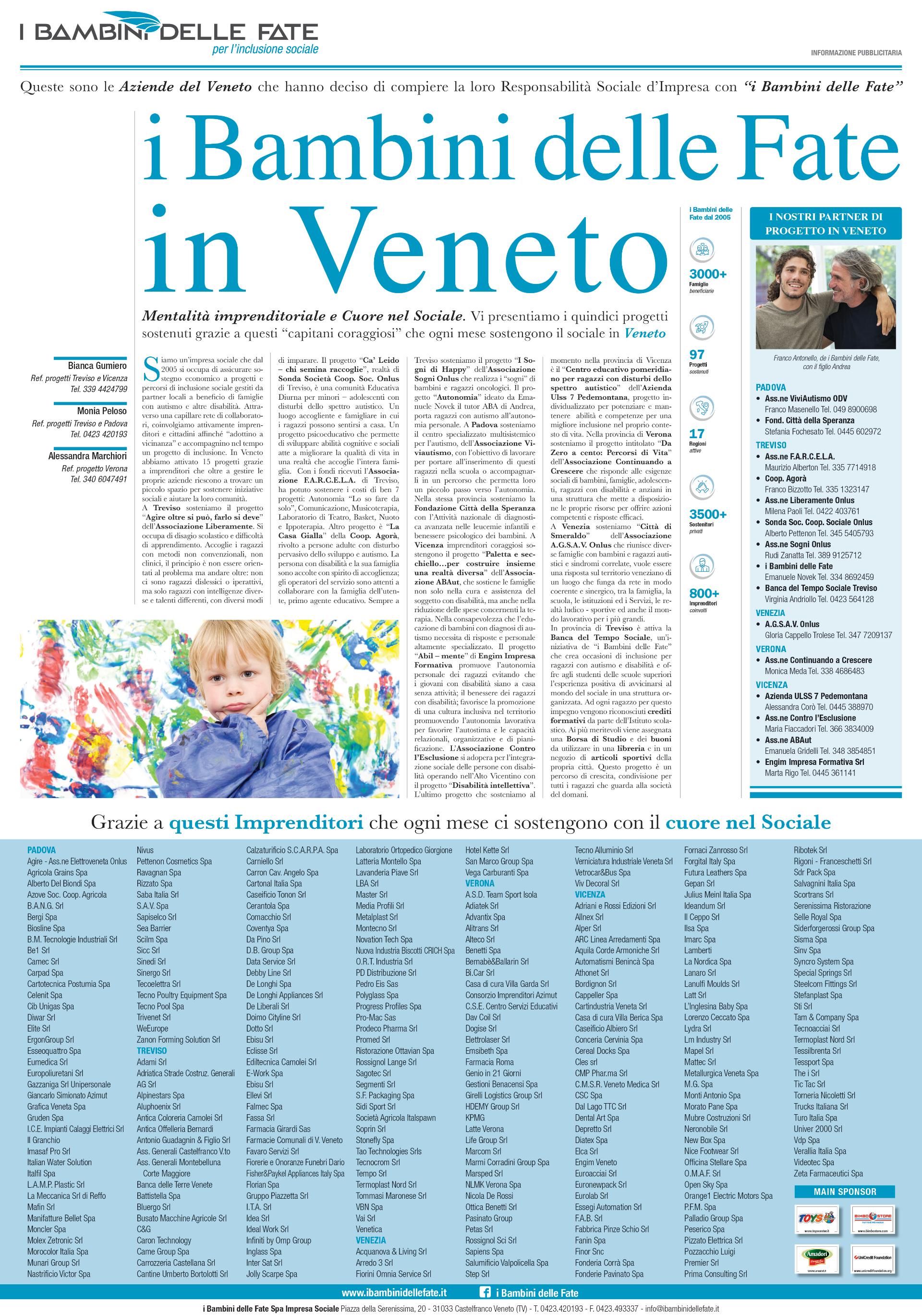 Press: Gazzettino del Veneto 25 maggio